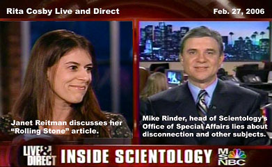 Interview MSNBC Mike Rinder and Janet Reitman Inside Scientology